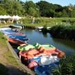 Alte Scheune, Reetdach, Usedom, Insel, Urlaub, Ferien, Ferienwohnung am Achterwasser, Familienurlaub, Loddin, Ostsee, Boot, Tretboot, Ruderboot